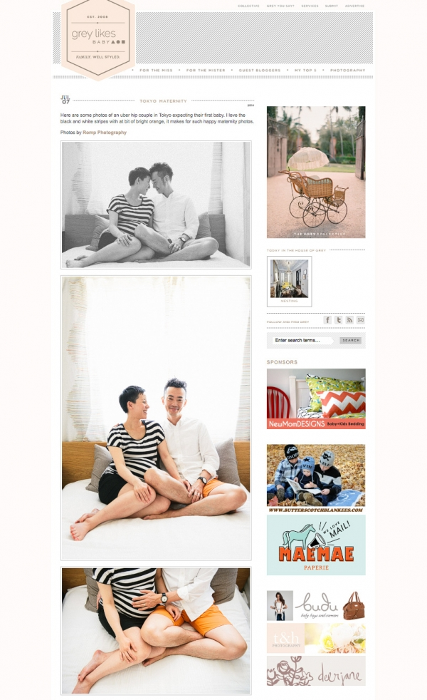 Tokyo Photographer   rompphotography.com   Featured on Grey Likes Baby